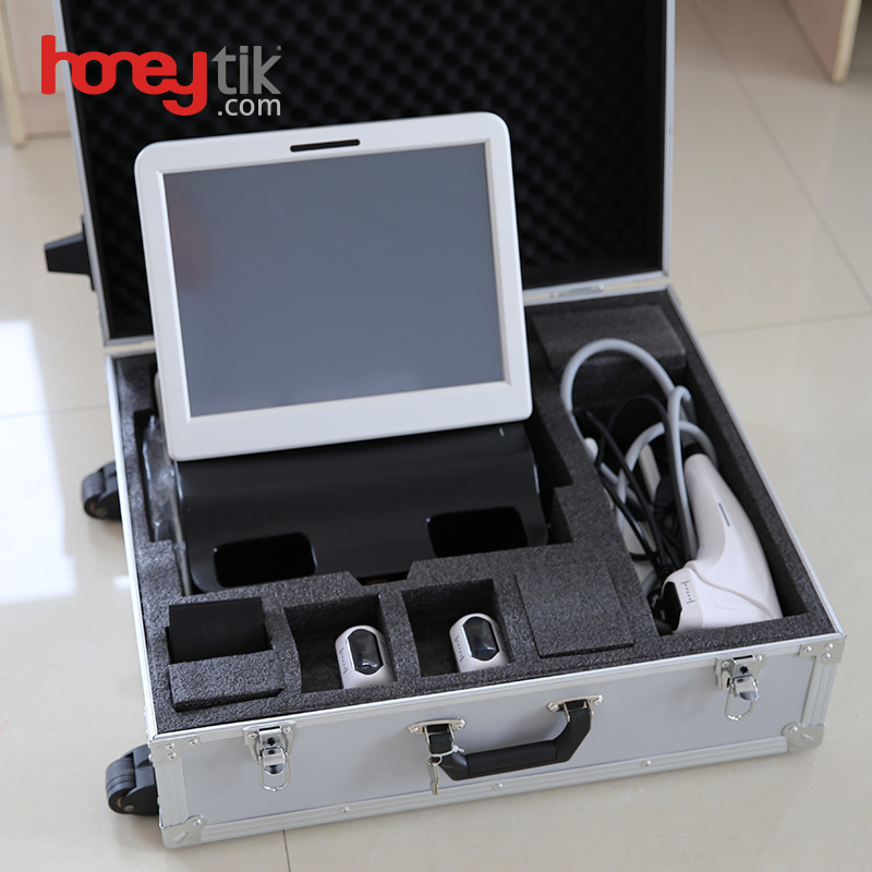 Made in China 3D Hifu facial beauty instrument 21500 work heads Face-lifting and weight loss FU4.5-4S