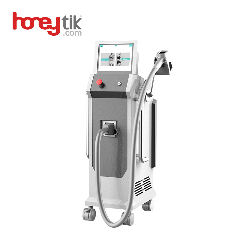 Permanent Hair Removal Machine Hot Selling Newest Painless Salon Dark Skin Use 3 Wavelengths 808nm Diode Laser